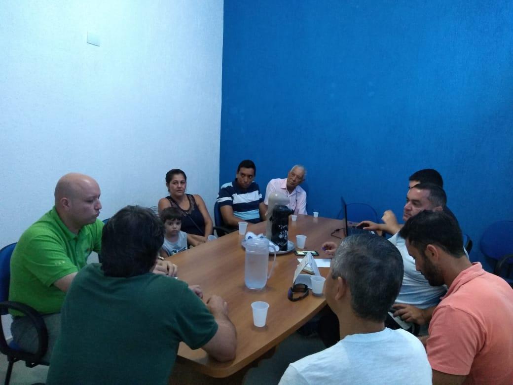 Reunião dos Veredores com o Gerente da Empresa Elektro